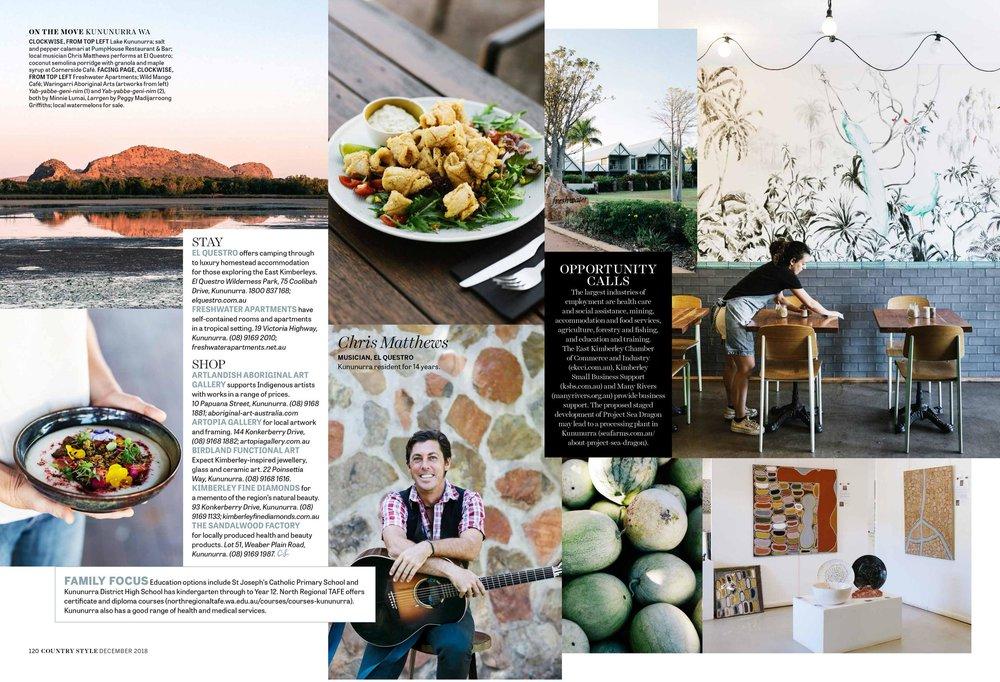 Melbourne travel photographer Marnie Hawson for Kununurra, Western Australia Tourism and Country Style.