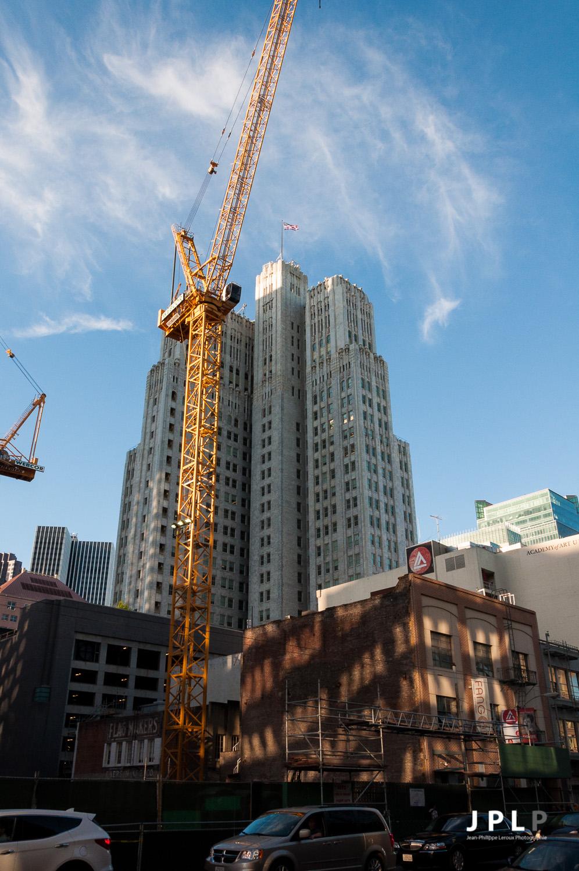 Il y a des chantiers partout à SF