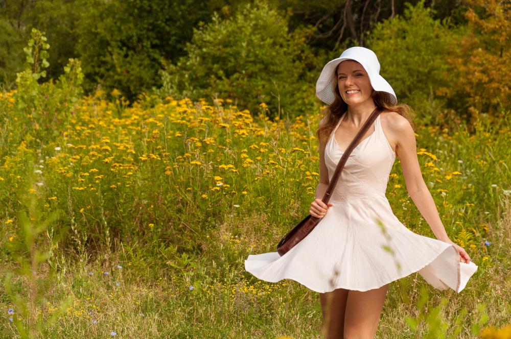 Wirginia in the field