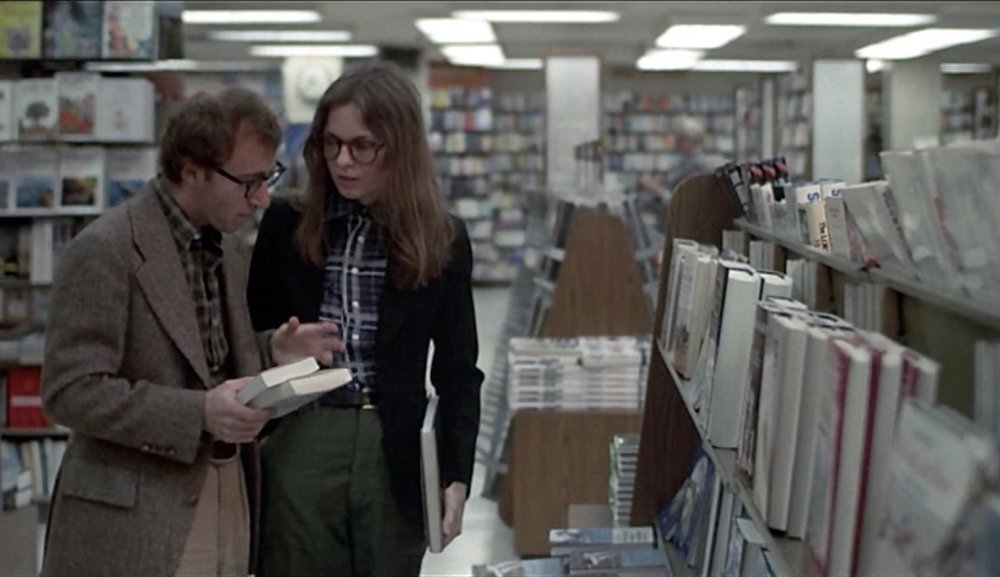 This article on Another Magazine makes the case of Annie Hall self-styling on point. Her eyewear are considered an accessory to show her nerdiness.