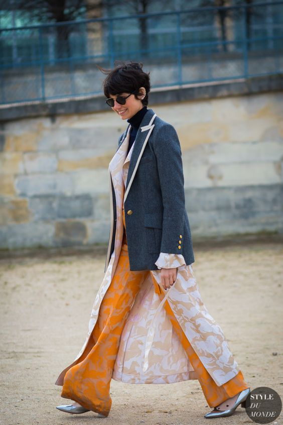 Eva Geraldine Fontanelli, one of the coolest editors, stylist, chic Italians photo from Style du Monde