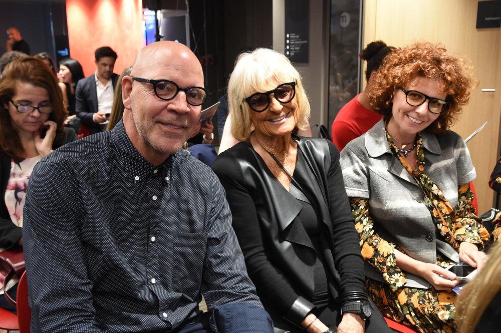 Michael Salmons, Barbara Hulanicki, & Francesca Belluomini.JPG