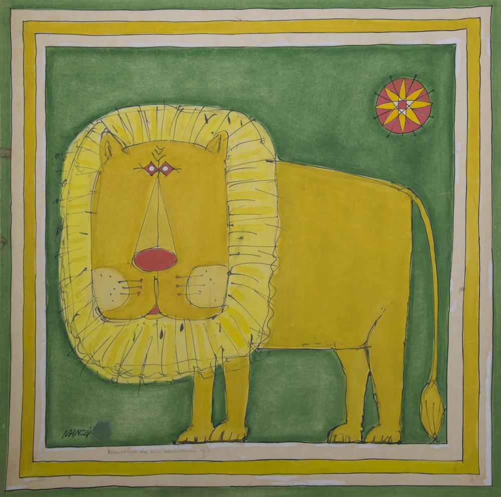 34-Riccardo Manzi, Lion, 1959.jpg