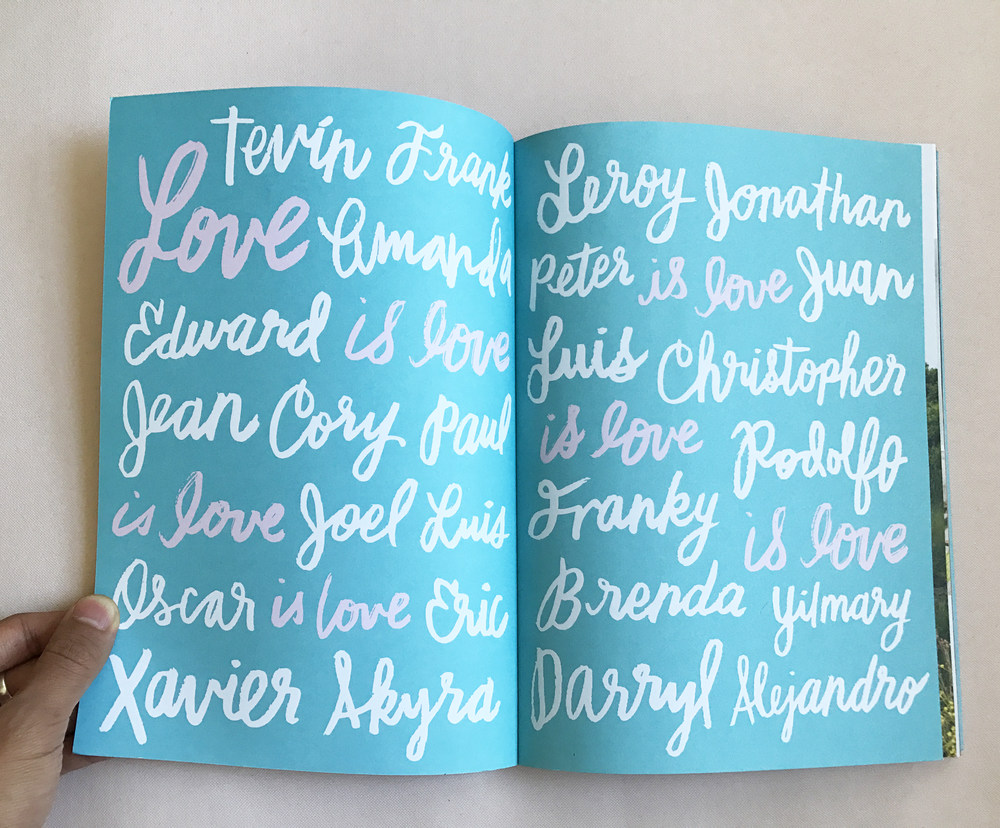 Jarry  magazine endpapers, 2016