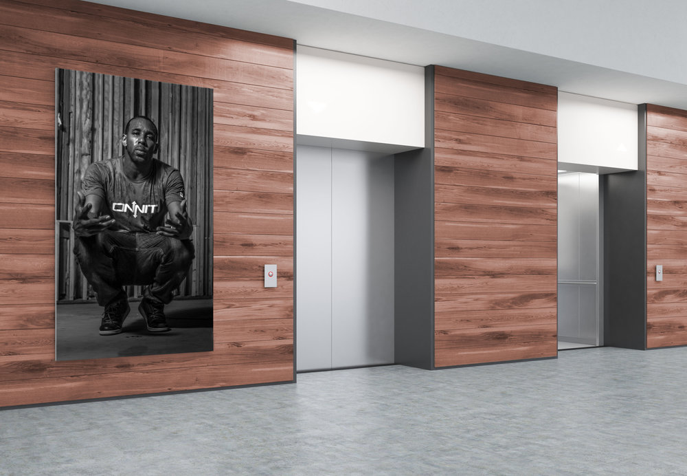 Stretch canvas Office elevator wall 48x84 inches.jpg