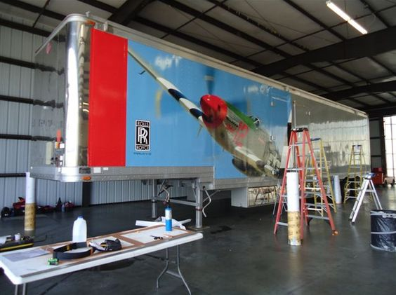 Wrap P-51 Mustang images on 53' trailer.jpg