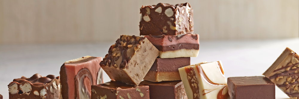 Delicious homemade fudge