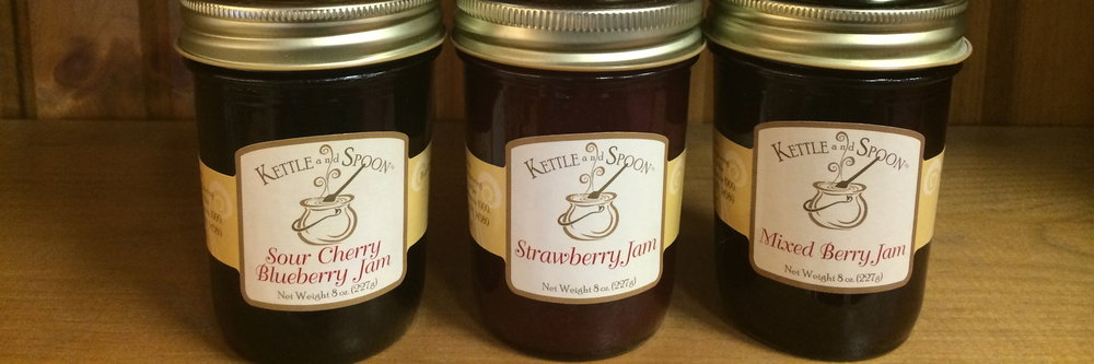 Small batch homemade jam