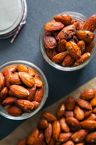 Roasted Rosemary Almonds  from JChong Studio