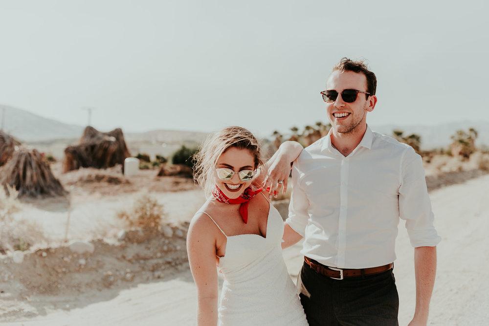 sarah + austin - palm springs bridals