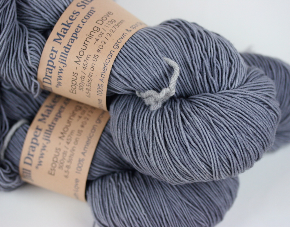 Yarn P0rn - Esopus Sock by Jill Draper Makes Stuff in Mourning Dove