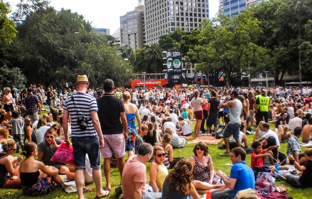 Sydney Festival - Domain