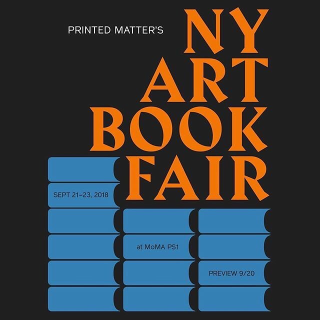 Very honored to be in this year's NYABF! Come by next weekend if you can. New work to see and feel! #nyabf2018