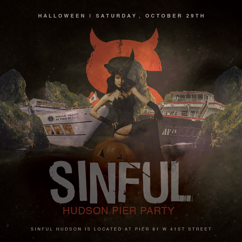 Sinful Hudson Pier Party-Oct 29