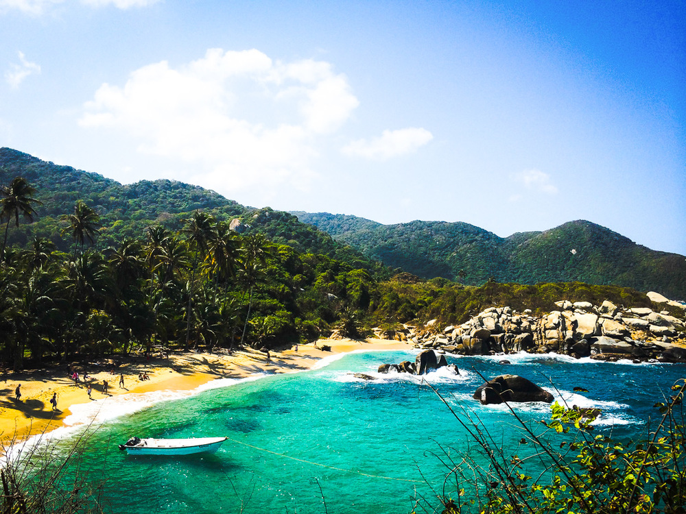 Cabo de San Juan Playa in Tayrona National Park, Colombia