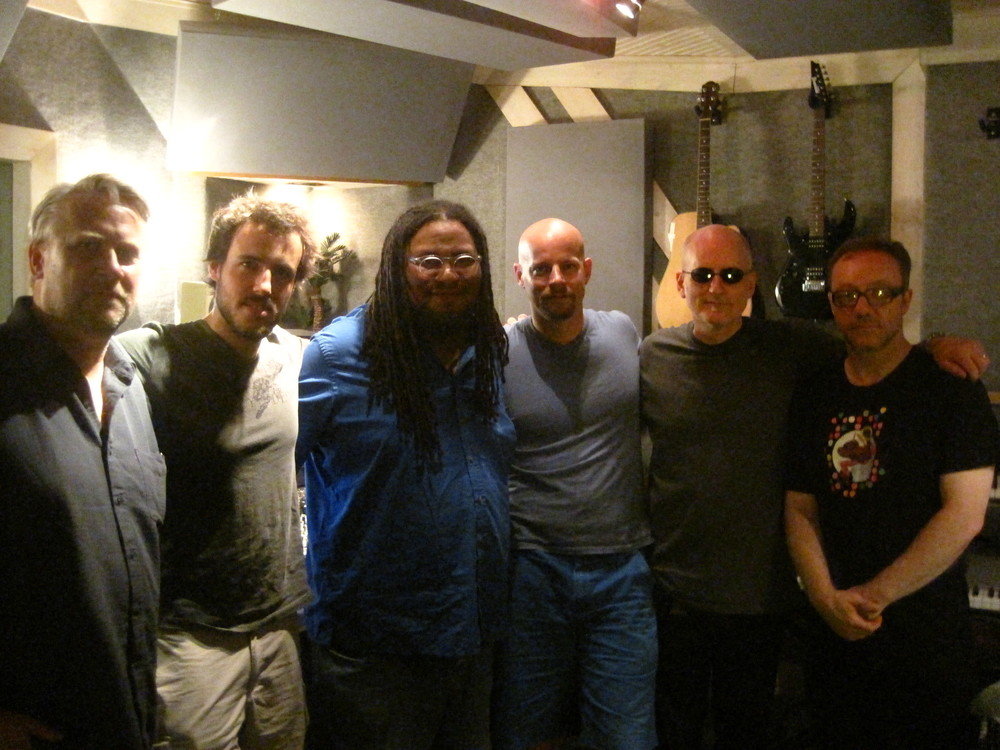 Recording Session at Lofish Studio, NYC, July 2013