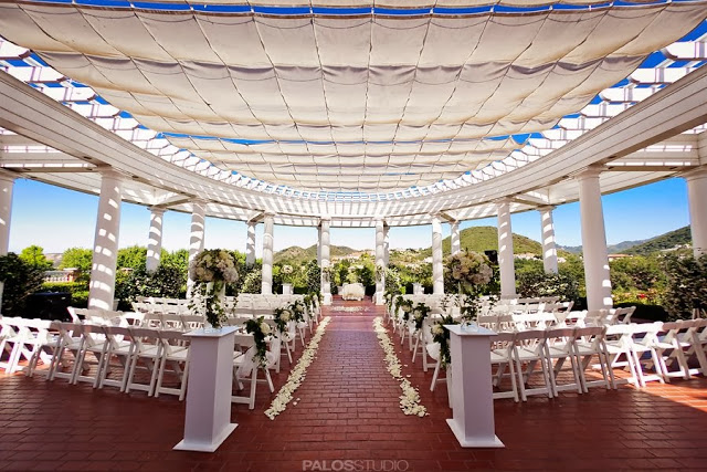 ... and Brian / Sherwood Country Club, Thousand Oaks CA — The flower lab