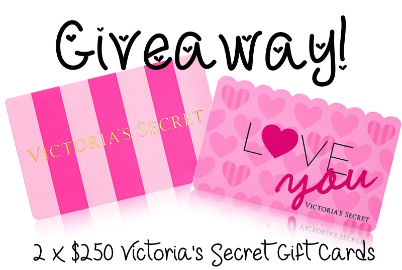 7ceeb79fa5ed9 Huge double giveaway: $250 Victoria's Secret Gift Cards — NOT A MODEL