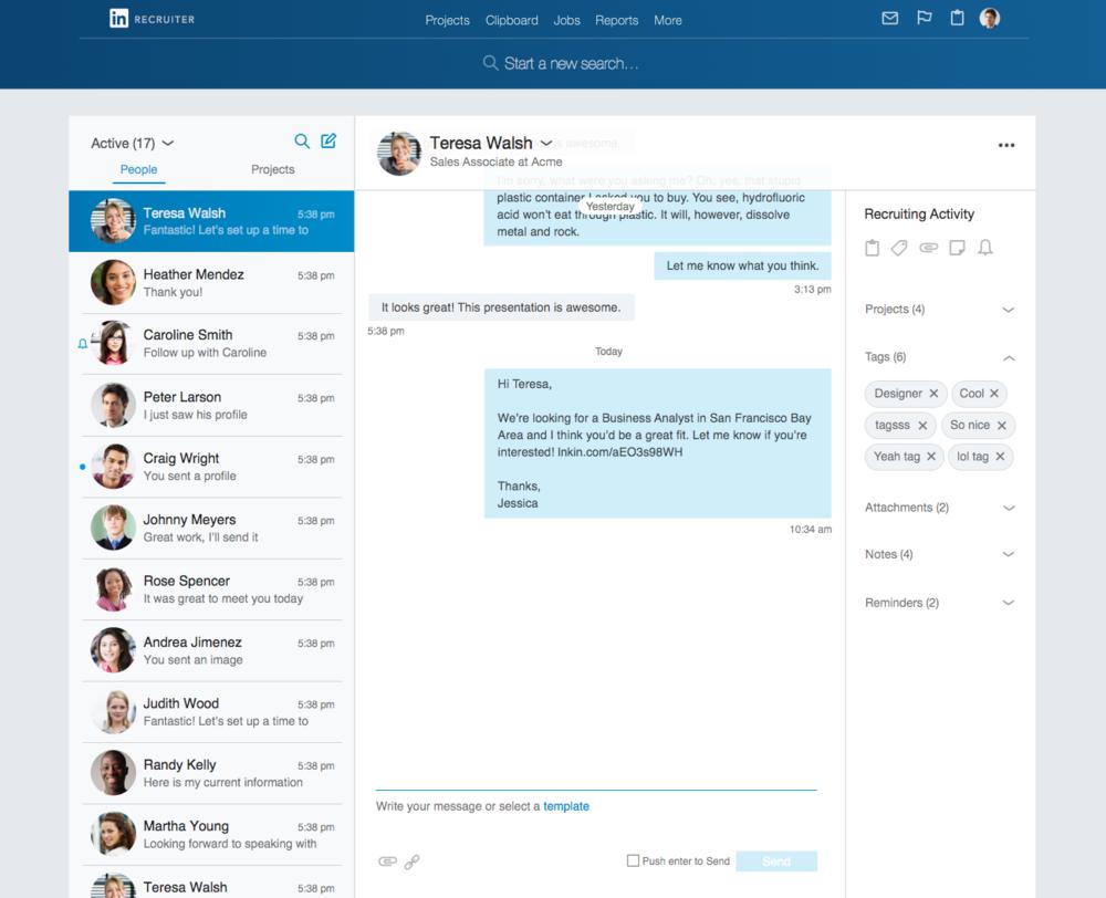 Linkedin Recruiter Messaging Kate Apostolou