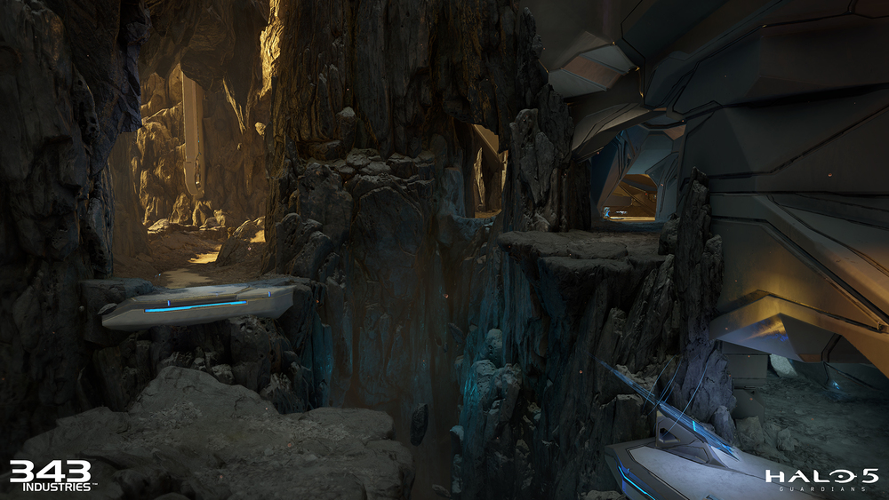 Map lead: Chin Fong | Additional artists: Alex Senechal, Jihoon Kim | Lighting artist: Josh Dean | Organics world building done by me. Rocks were made by John Flath