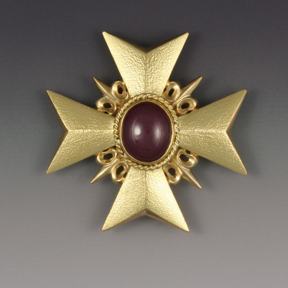 Star Ruby Pin-Pendant