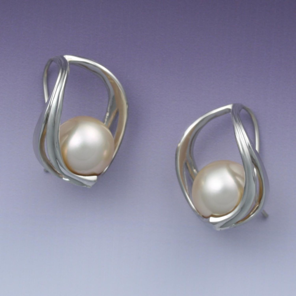 Pearl Hook Earrings