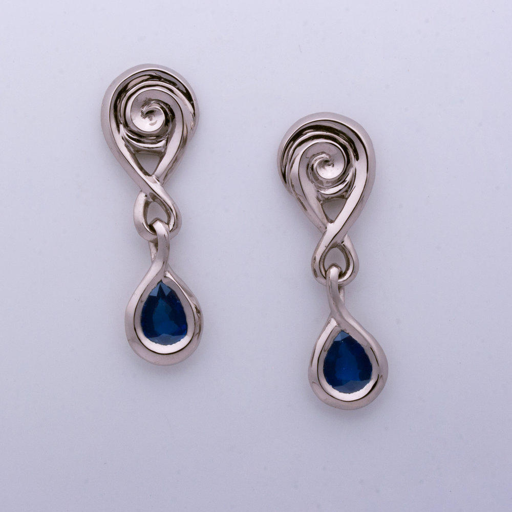 MacEachran Sapphire Earrings