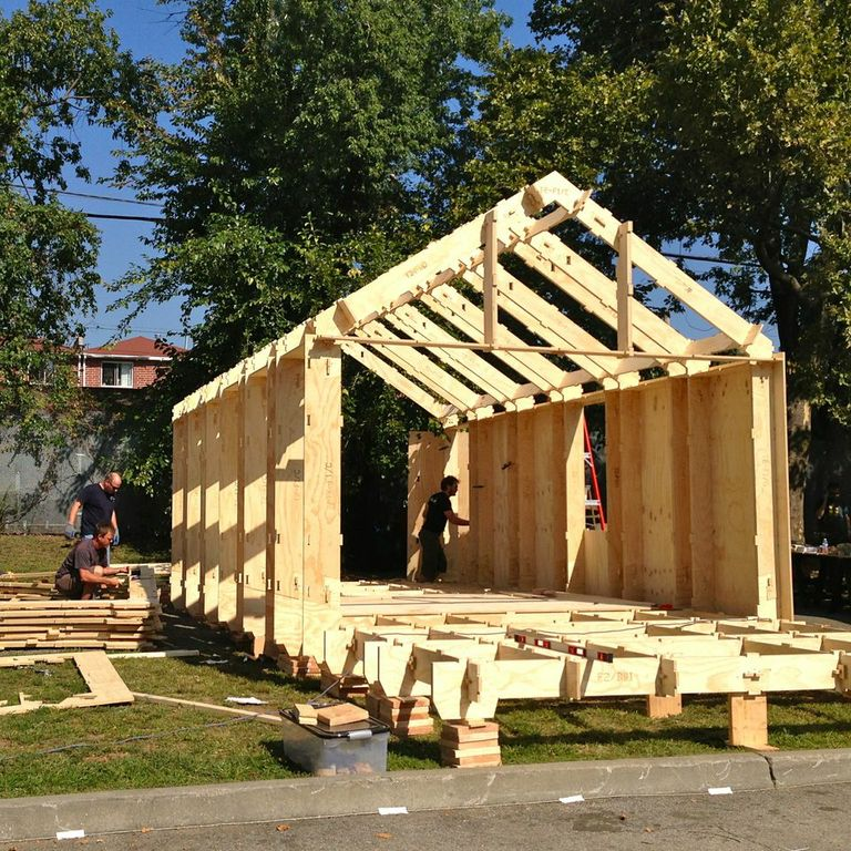 Wikihouse at NYC Maker Faire — Architecture 00 | 768 x 768 jpeg 180kB