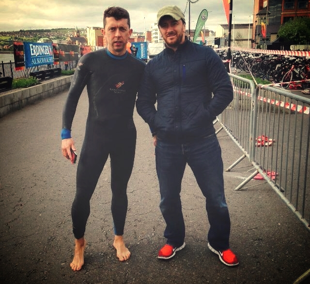 OLYMPIC TRIATHLON DAY WITH YOUNGER BROTHER/WINGMAN COLM