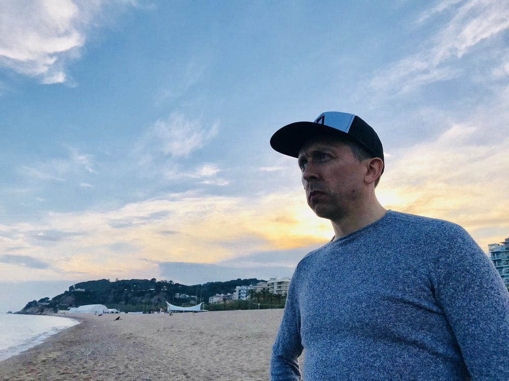 Deep in thought, Calella, Spain May 2018
