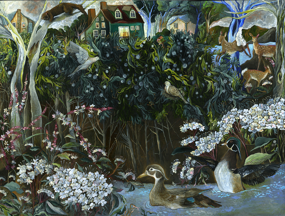 """Button Plants and Wood Ducks"""