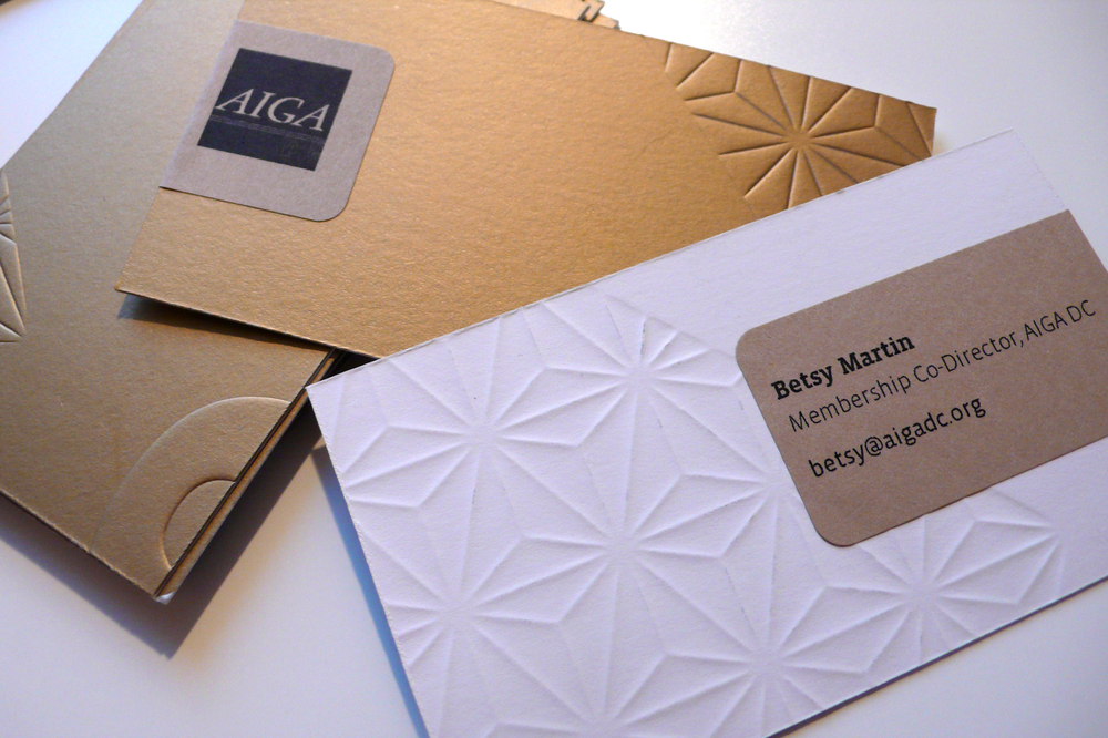 AIGA Business Cards