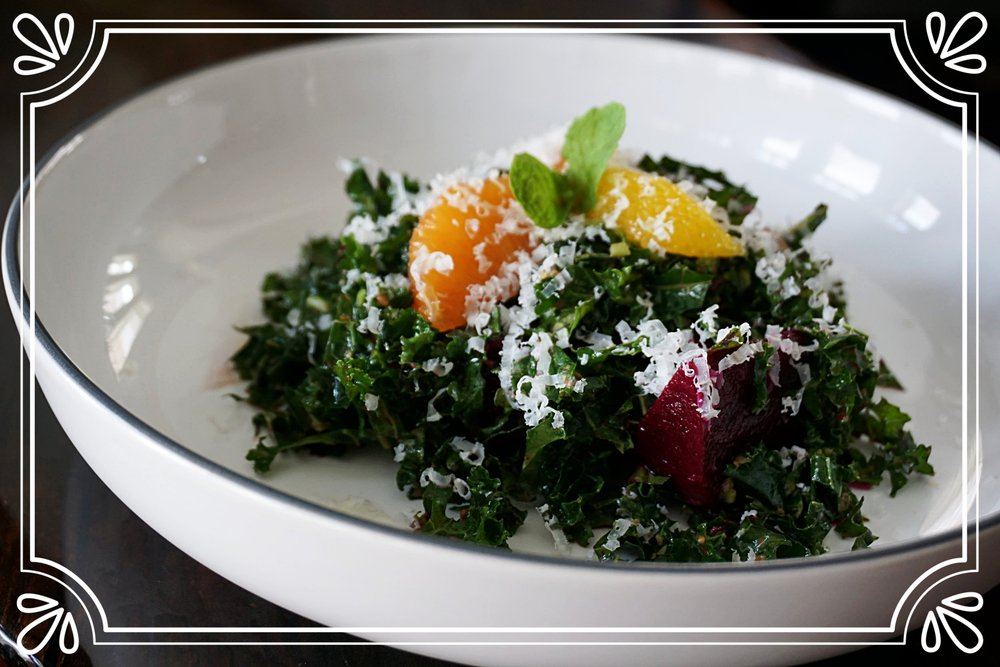 Kale & Mint Salad