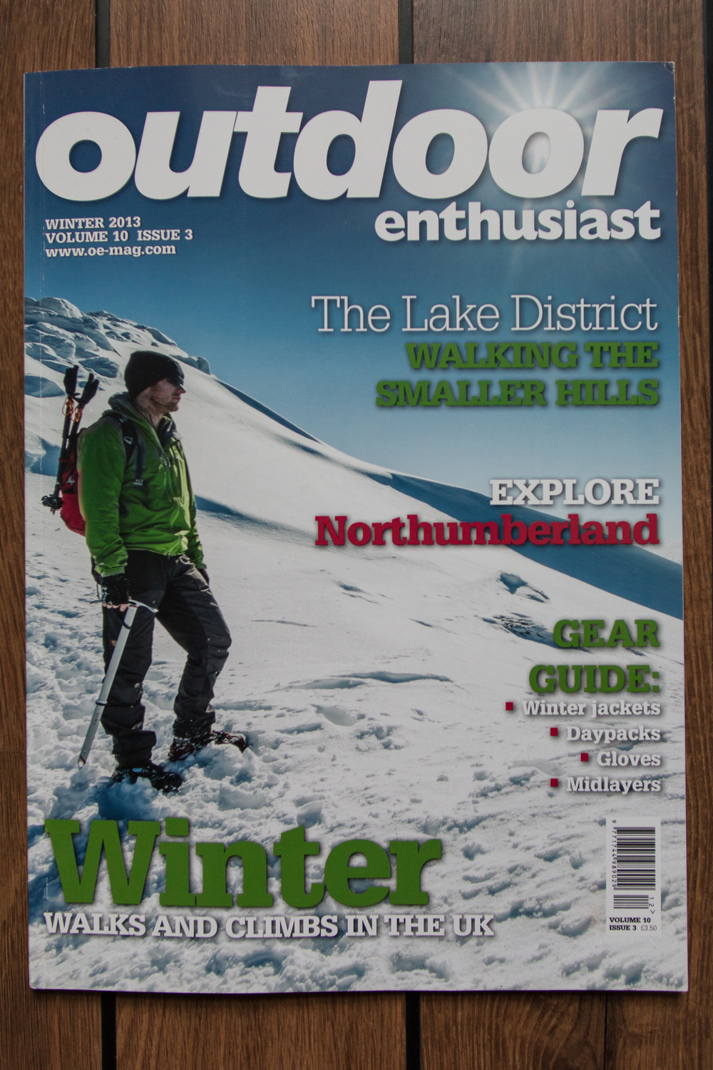 Outdoor Enthusiast: cover shot