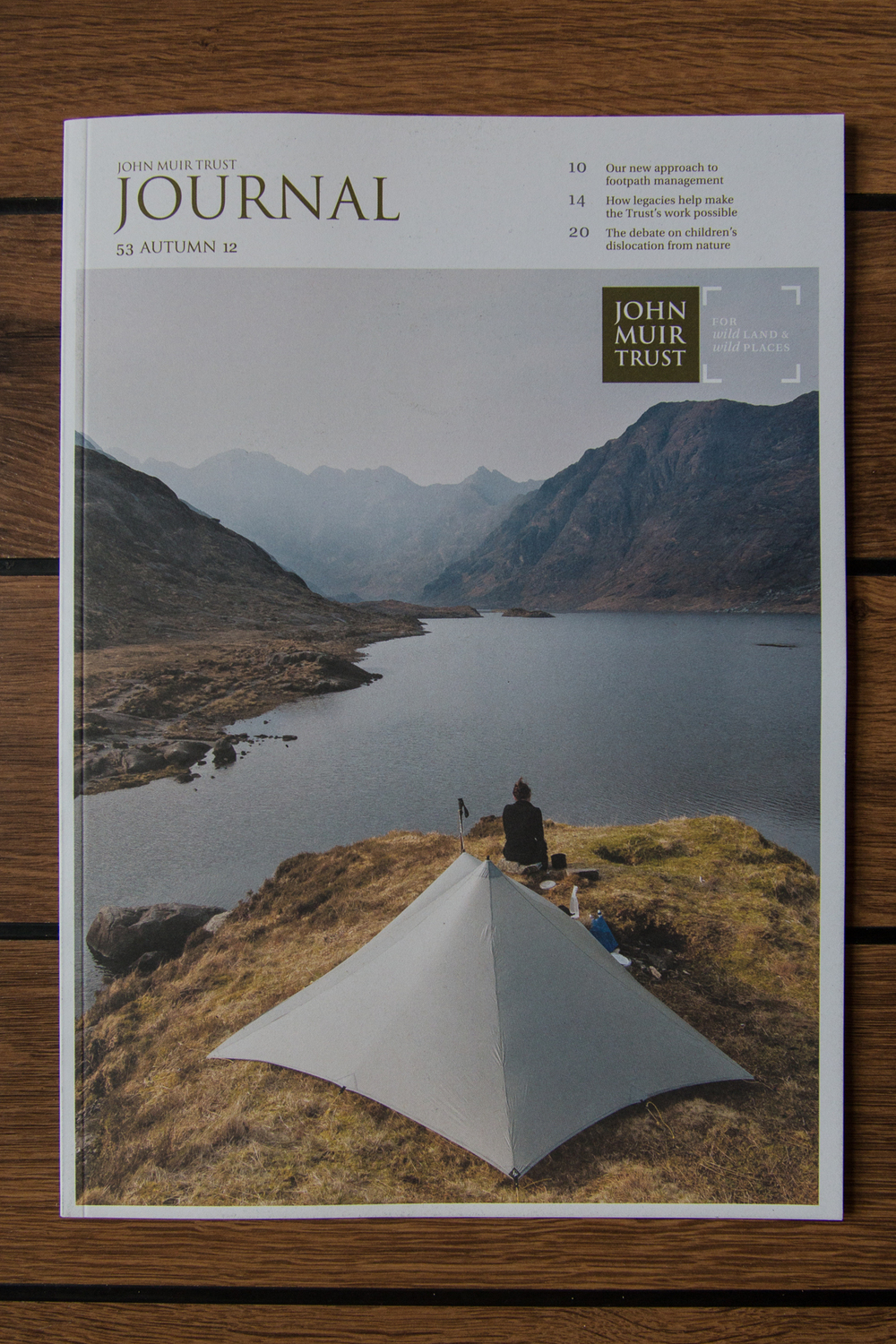 John Muir Trust Journal: cover