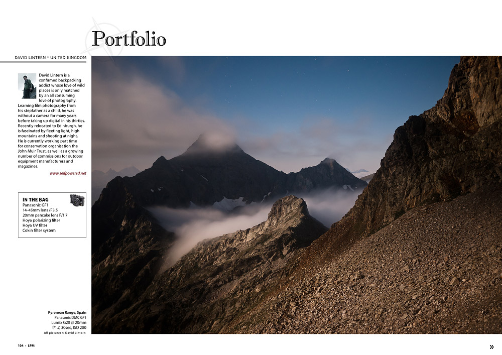 Landscape Photography magazine: portfolio
