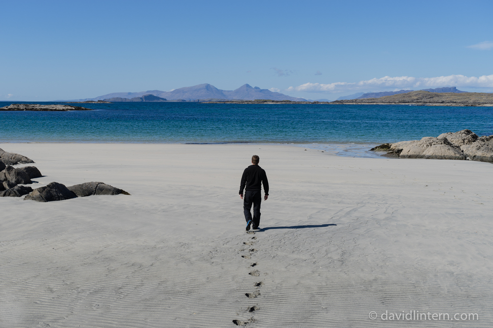 arriving at Sanna Bay