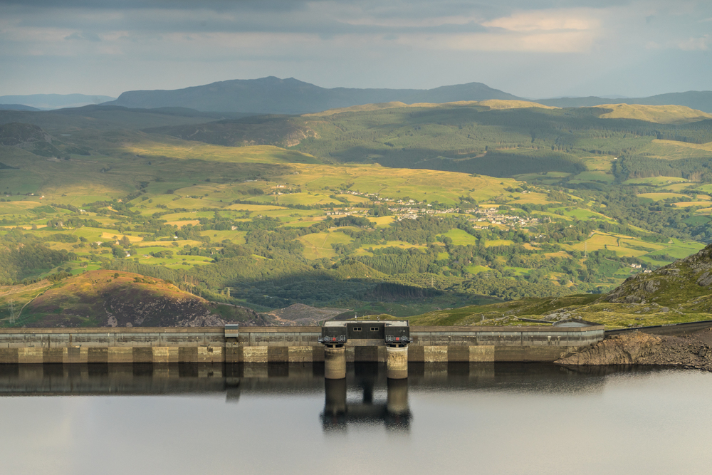the UK's oldest pump storage scheme, N. Wales
