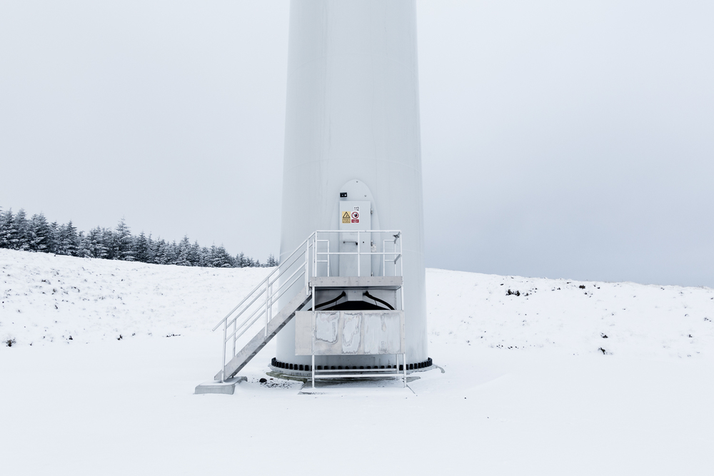 Europe's largest wind turbine installation, Borders