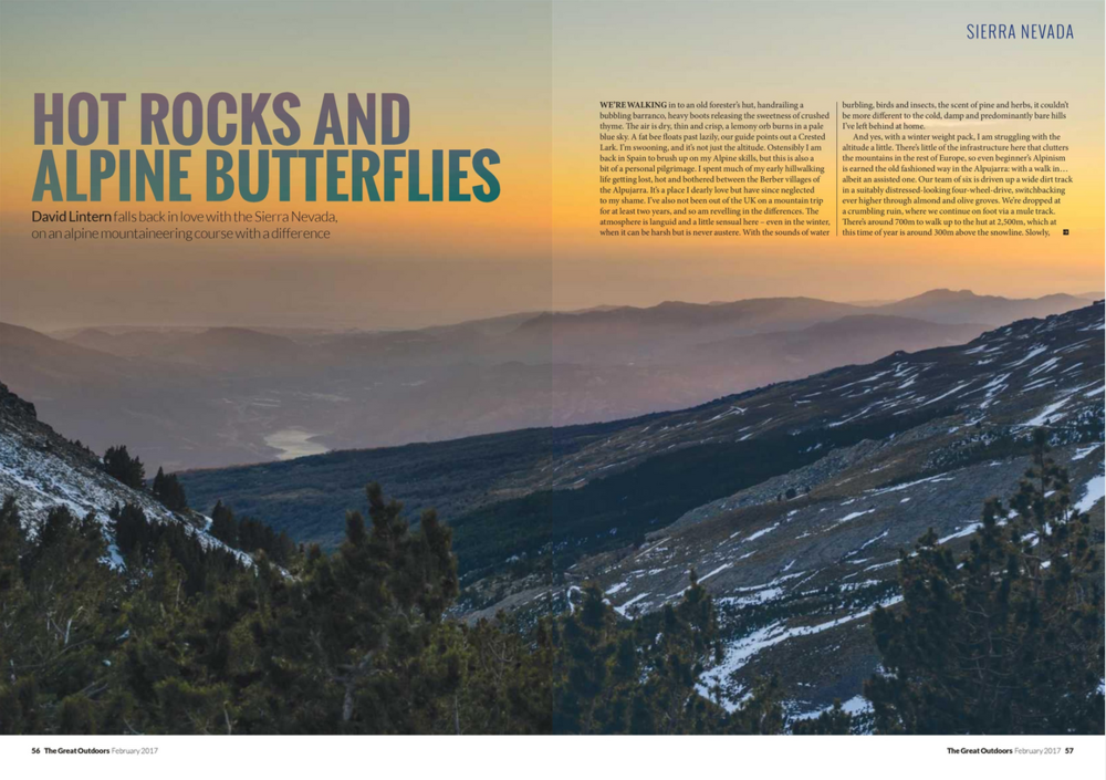 DPS of The Great Outdoors Magazine feature