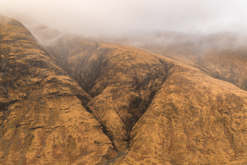 This photo, and the one below were taken in-between rain showers in Glen Etive, a powerful place.