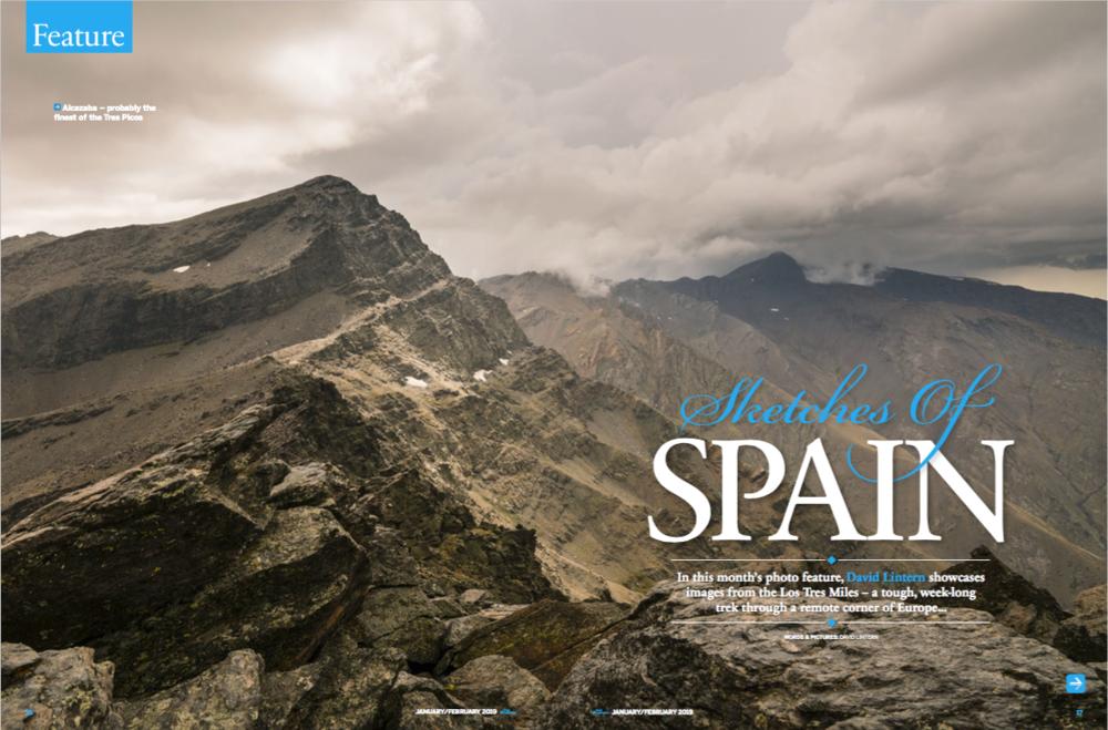 Photo feature, Trek & Mountain Magazine