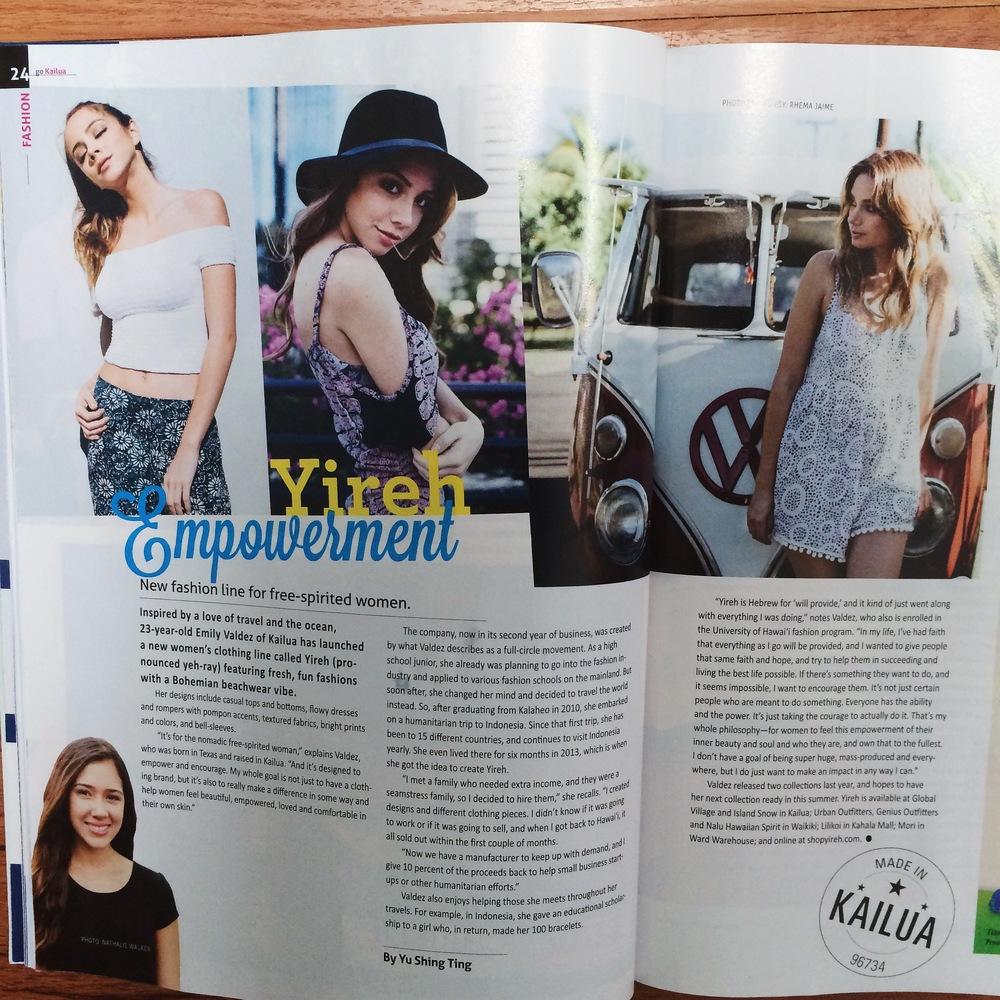Go Kailua Magazine Summer 2015