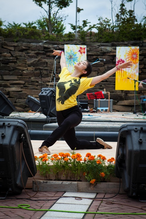 Grace Song, Juilliard to Japan, photo credit: Tricia Schoon
