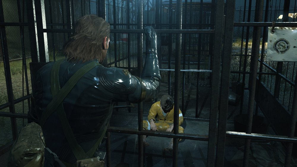 Camp Omega in MGSV: Ground Zeroes
