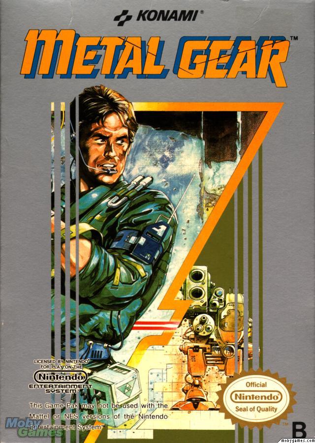 Metal Gear NES (1988)
