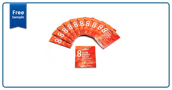 Eight Hour Energy Patch Free Sample