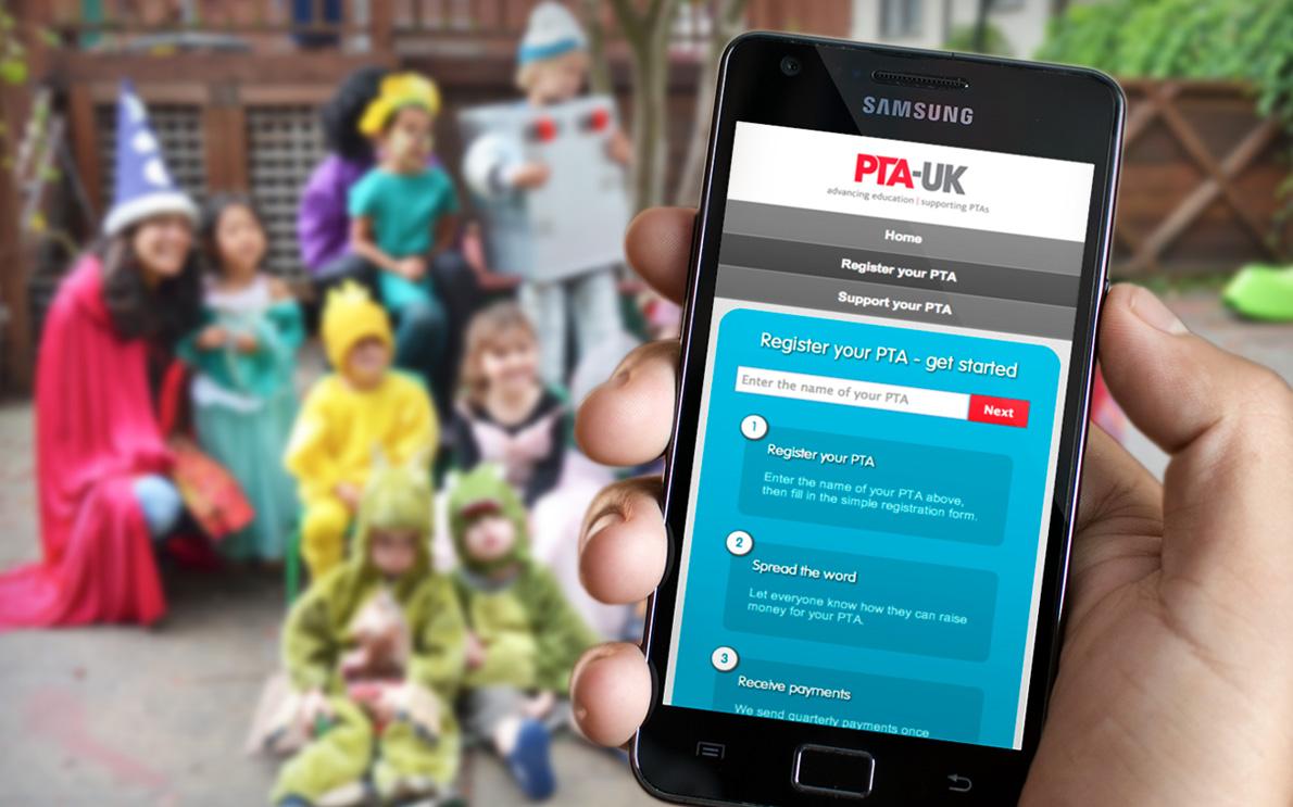 PTA-UK & easyfundraising
