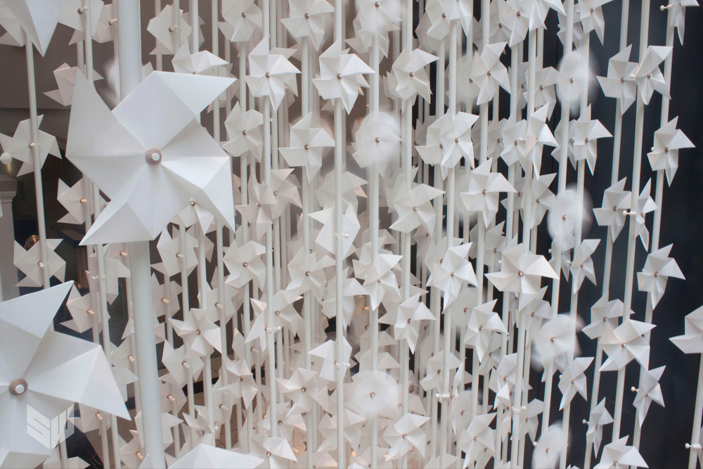 Wind Portal Installation by Najla El Zein –