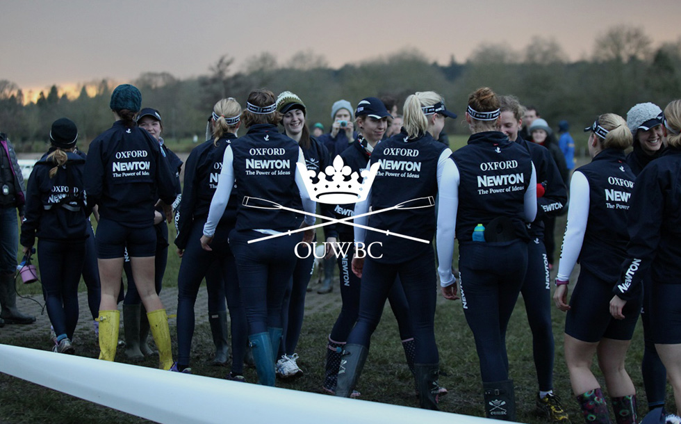 OUWBC rowers